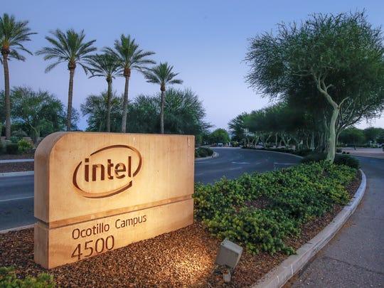 Intel's Ocotillo Campus in Chandler.