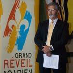 Randy Menard, president, Louisiane-Acadie/Grand Reveil Acadien 2015