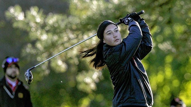 Caroline Kromalic is among three players returning for the Columbus School for Girls' golf team, which reached the state tournament last season for the first time in 11 years.