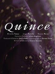 "Film poster for ""Quince,"" one of the short films to play at the Latin American Film Festival Dec. 23 at The Stone Palace."