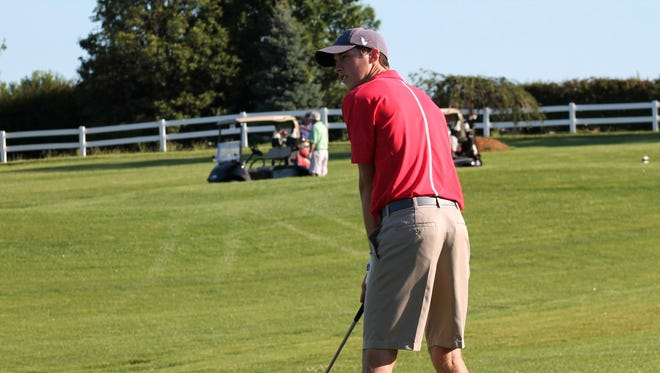 Harrison's Neil Hart closed his high school career with a 43rd place tie at the IHSAA Boys Golf State Finals in Carmel.