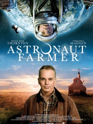 """The Astronaut Farmer"""" (2006) Starring Billy Bob Thornton, Virginia Madsen with cameos by Bruce Dern and Bruce Willis, was directed by Michael Polish, written by Michael and Mark Polish, and filmed in Santa Fe,  Albuquerque, Espanola and Las Vegas, New Mexico."""