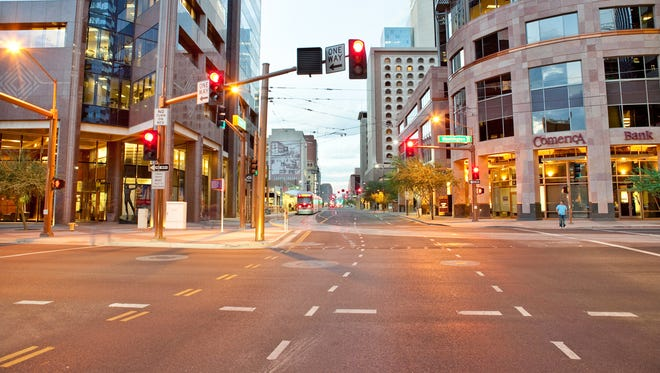 One Maricopa Association of Governments study took a look at how certain transportation changes could have an effect on downtown Phoenix.