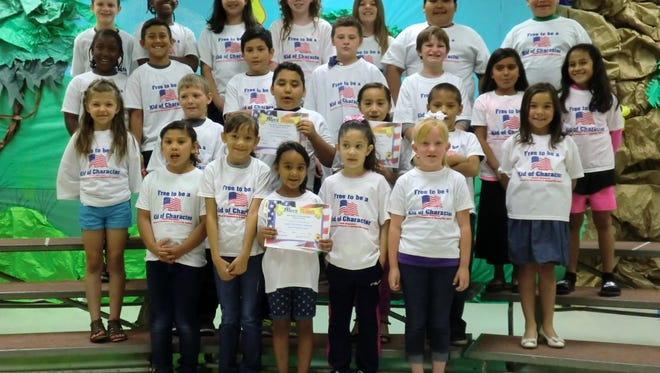 Several students at Puckett were recognized for being fair.