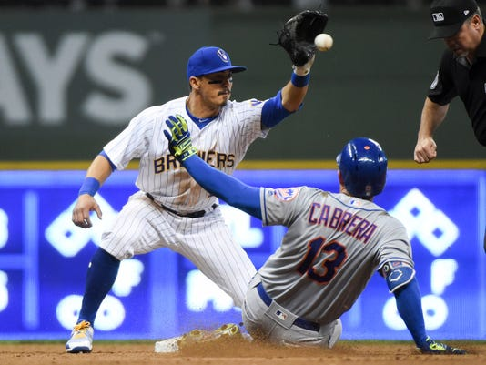 MLB: New York Mets at Milwaukee Brewers