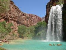 Havasupai Falls, maravillosas cascadas turquesas en AZ