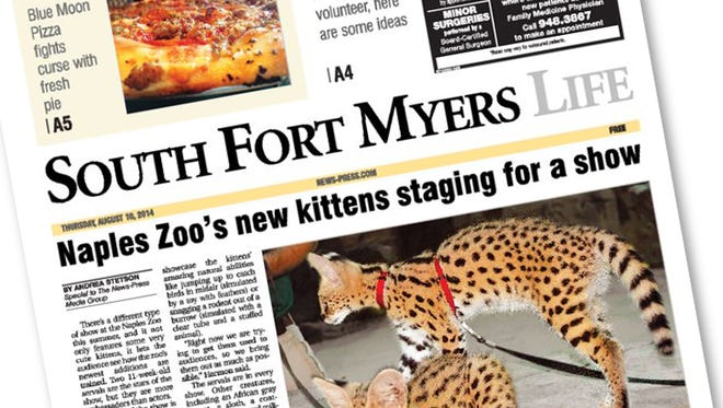 Many of our readers who do not normally receive a South Fort Myers Life section in their will do so today.