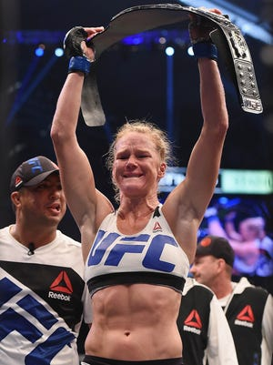 Holly Holm shocked the MMA world with her knockout of Ronda Rousey.