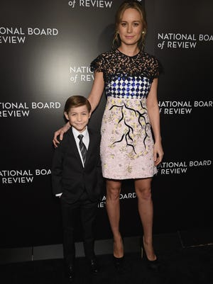 'Room' co-stars Jacob Tremblay, left, and Brie Larson made a splash at the National Board of Review awards gala.
