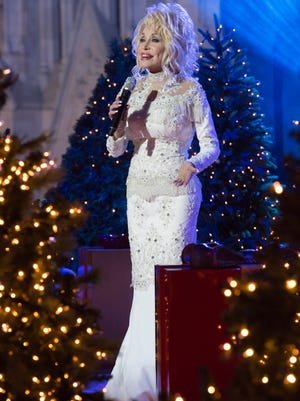 Dolly Parton is one of the performers for this year's 'Christmas in Rockefeller Center' on NBC.