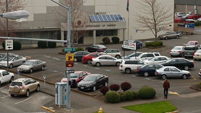 Negotiations for 58 state office leases throughout Oregon have been frozen, including the Department of Energy building in Salem.