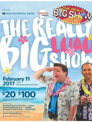 The Really Big Show will have a luau theme this year and will take place at 7 p.m. Saturday at Old National Events Plaza.