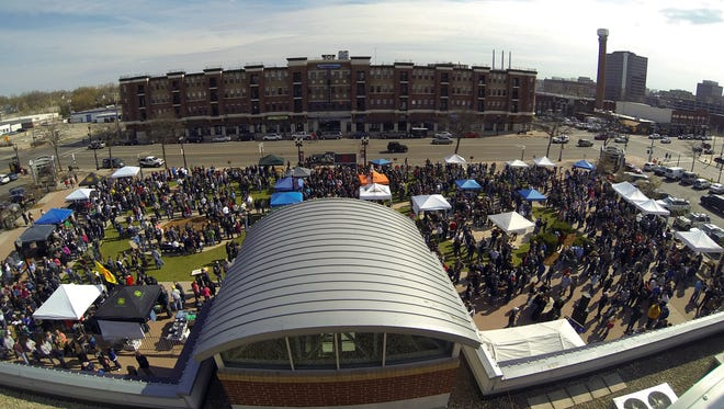 Beerfest at the Ballpark returns to Cooley Law School Stadium is Saturday.