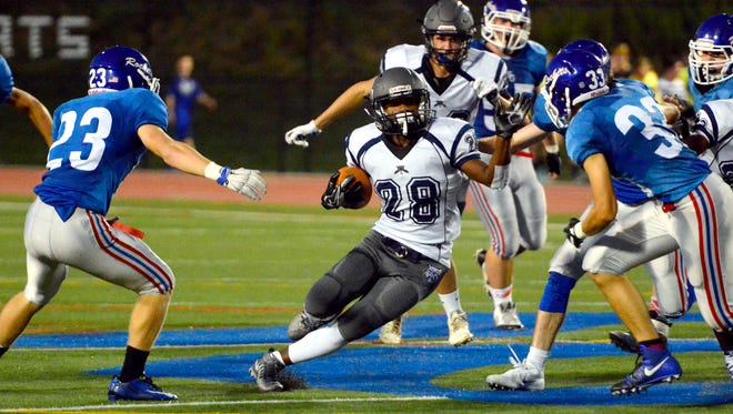 Nyzair Smith and his Dallastown teammates will take on unbeaten Red Lion at 7 p.m. Friday at Horn Field.