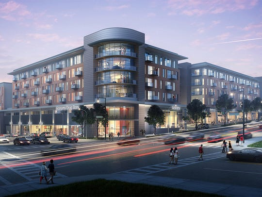 The $78-million, mixed-used development includes 200