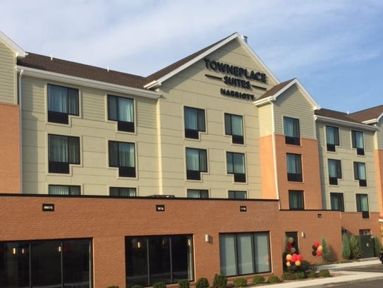 TownPlace Suites, with 87 rooms, is geared toward guests