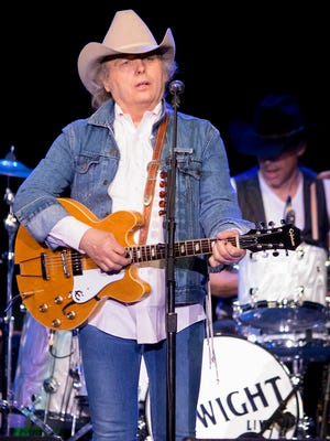 Dwight Yoakam performs in Des Moines at Wells Fargo Arena Wednesday, April 11, 2018. He'll headline the Las Cruces Country Music Festival on Friday, Oct. 19.