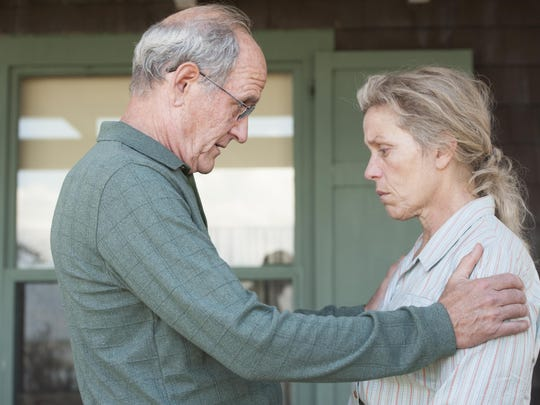 Richard Jenkins and Frances McDormand in 'Olive Kitteridge'
