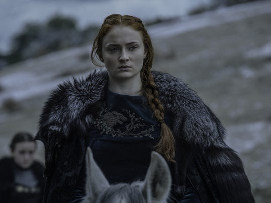 Sophie Turner, who plays the increasingly powerful