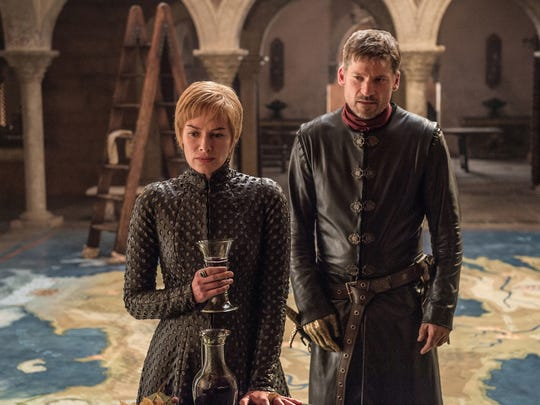 Cersei (Lena Headey) and Jaime (Nikolaj Coster-Waldau)