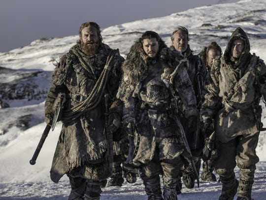 Jon Snow and his motley crew travel beyond The Wall