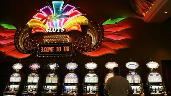 Inside look at a casino.