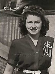 "An undated photo of Mary Frances ""Frankie"" Housley,"