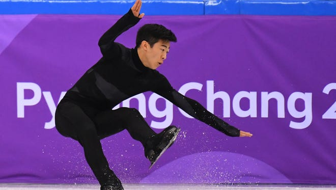 Nathan Chen will want to avoid doing this in the individual men's competition at the Winter Olympics on Friday.