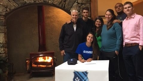 Asheville Trailblazers senior Elsa Woody has signed to play college soccer for Covenant (Ga.).