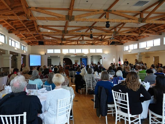 Local lawyers and judges showed up to hear California Chief Justice Tani Cantil-Sakauye speak during a Ventura County Women's Political Council meeting Saturday at the Pierpont Inn in Ventura.