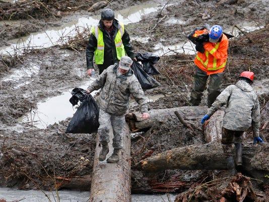 Washington mudslide