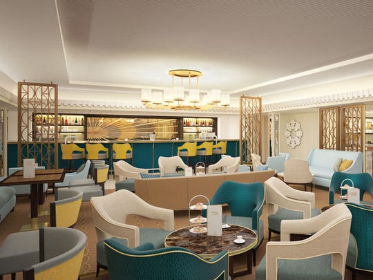 By day, the Carinthia Lounge will be serving up light