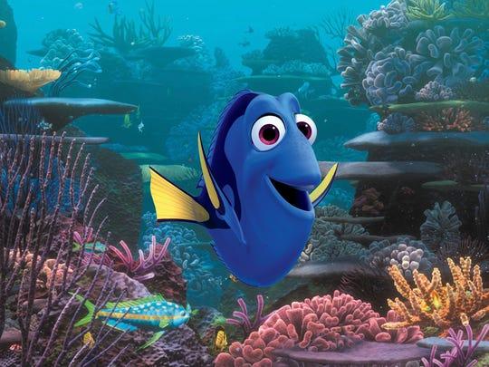 Ellen DeGeneres voices the title fish in 'Finding Dory.'