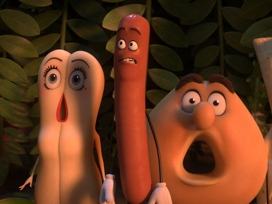 'Sausage Party' certainly earns its R rating with food