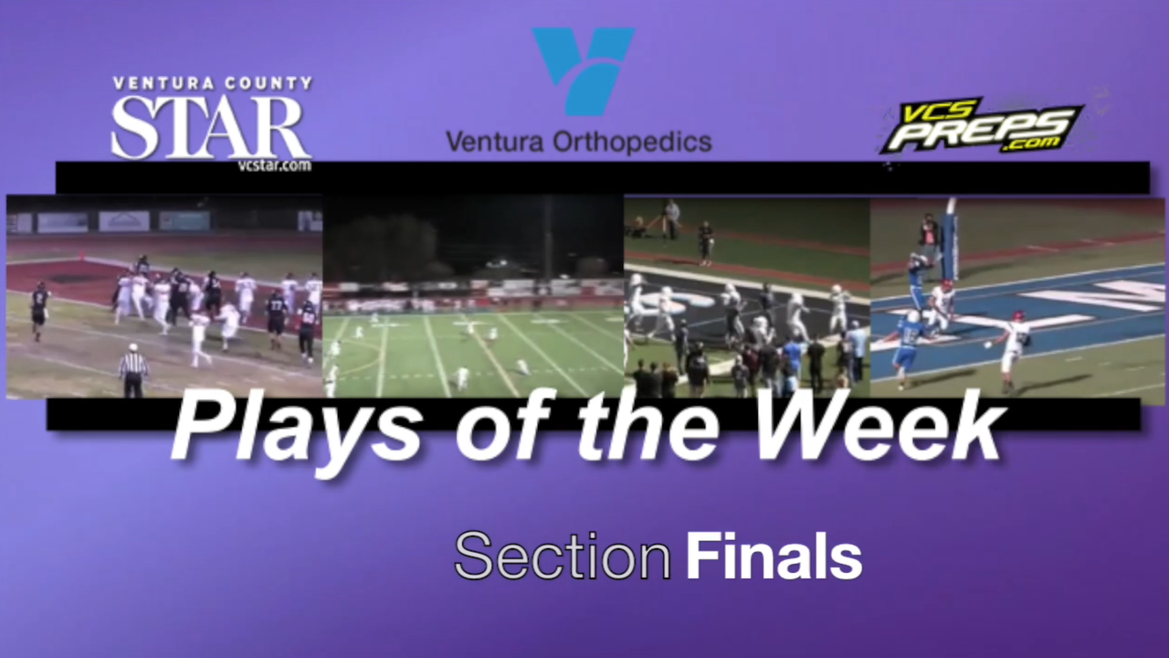 The standout plays as Oaks Christian, Antelope Valley and Moorpark compete for CIF-Southern Section championships. Video by Joe Curley.