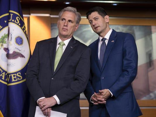 Paul Ryan,Kevin McCarthy