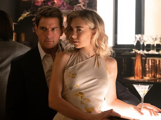 Tom Cruise and Vanessa Kirby