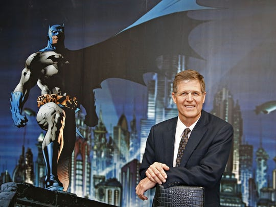 Govig & Associates CEO Todd Govig in one of two superhero-inspired