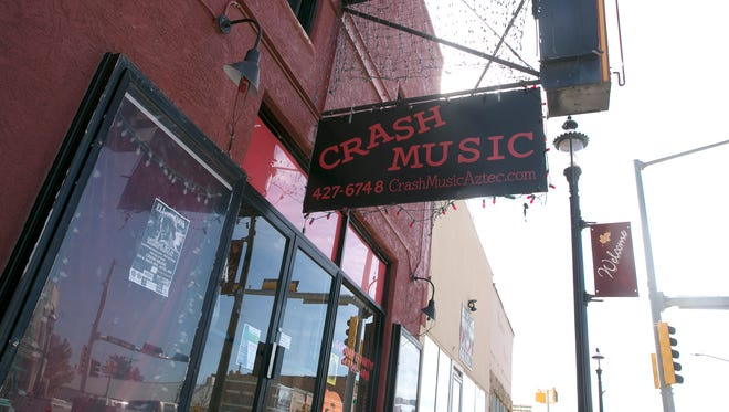 The owners of Crash Music at the Aztec Theater have announced they are moving to Tucson, Ariz., at the end of the month.