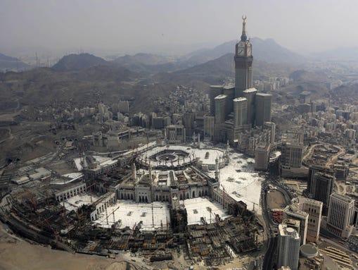 Saudi Arabia's civil defense authority says dozens