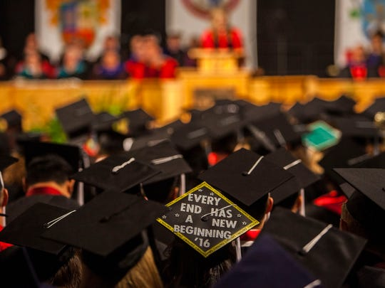 Southern Utah University's commencement ceremony, Saturday,