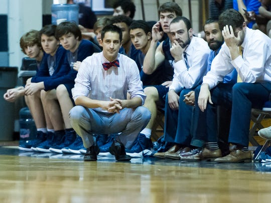 ESA coach Mike Bourgeois and the Falcons will be hosting Family Christian at 7 p.m. Thursday in the Class B quarterfinals.