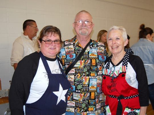 Vernon lost former mayor and Vernon Community holiday meals founder Pat Bryant (center), who died Christmas Day 2016.