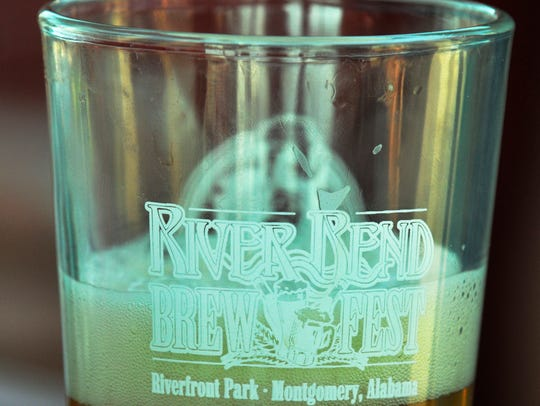 Guests will get commemorative glasses to keep at the sixth annual Riverbend Brew Fest at the Train Shed on Friday.