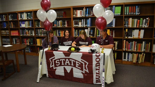 Franklin senior Madison Cousineau has signed to play college softball for Mississippi State.