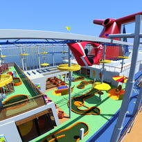 Cruise ship tours: Carnival Breeze
