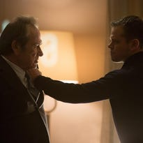 """In this image released by Universal Pictures, Matt Damon appears in a scene from """"Jason Bourne."""" (Universal Pictures via AP)"""