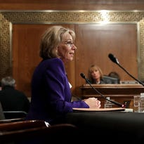 Jacques: DeVos shows grit at hearing