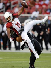 Arizona Cardinals wide receiver Larry Fitzgerald is