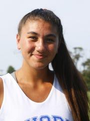 Shore Regional High girls soccer player Julia Eichenbaum.